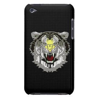 Tiger Head Metallic-look Wild Cat Animal Case-Mate iPod Touch Case