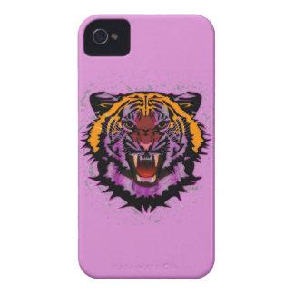 Tiger Head, Tiger Artwork ,Wild Cat, Animal Art Case-Mate iPhone 4 Case