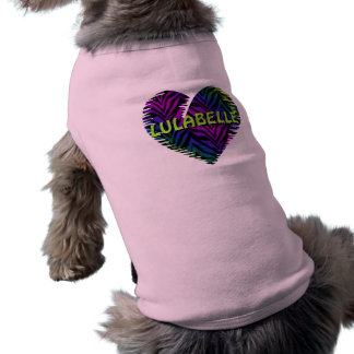 Tiger Heart 1 Sleeveless Dog Shirt