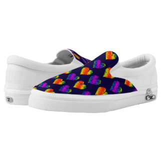 Tiger Heart 3 Slip On Printed Shoes