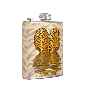 Tiger Heart Hip Flask