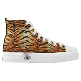 Tiger Hi Top canvas Shoe