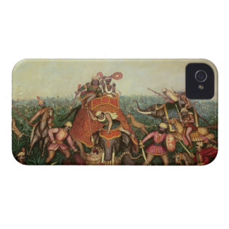 Tiger Hunt, 1892 (oil on canvas) iPhone 4 Cover