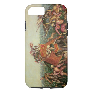 Tiger Hunt, 1892 (oil on canvas) iPhone 8/7 Case