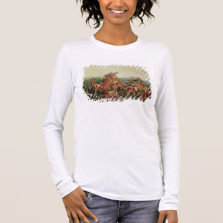 Tiger Hunt, 1892 (oil on canvas) Long Sleeve T-Shirt