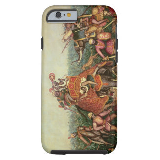 Tiger Hunt, 1892 (oil on canvas) Tough iPhone 6 Case