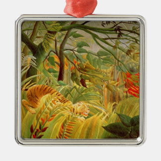 Tiger in a Tropical Storm  1891 Christmas Ornament