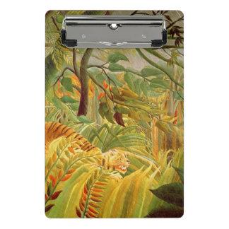 Tiger in a Tropical Storm  1891 Mini Clipboard