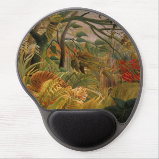 Tiger in a Tropical Storm by Henri Rousseau Gel Mouse Mat