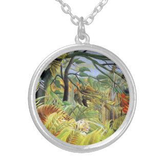 Tiger in a Tropical Storm Pendant