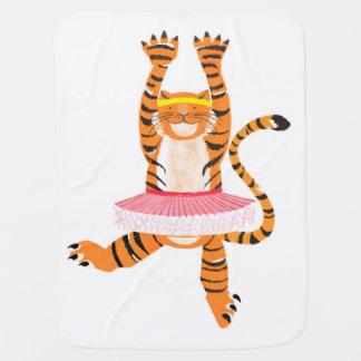 Tiger in a Tutu Pramblanket