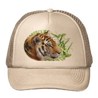 TIGER IN BAMBOO MESH HATS