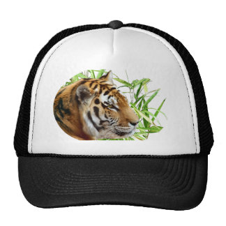 TIGER IN BAMBOO MESH HAT