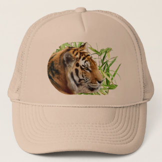 TIGER IN BAMBOO TRUCKER HAT