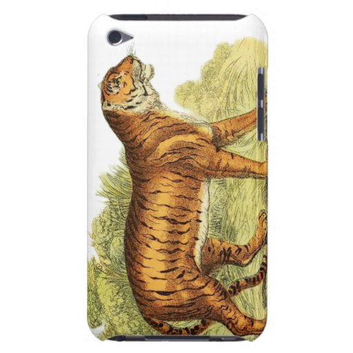 TIGER IN JUNGLE iPod TOUCH CASE