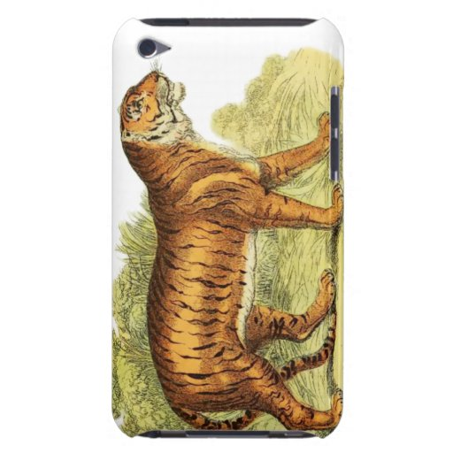 TIGER IN JUNGLE iPod TOUCH COVER