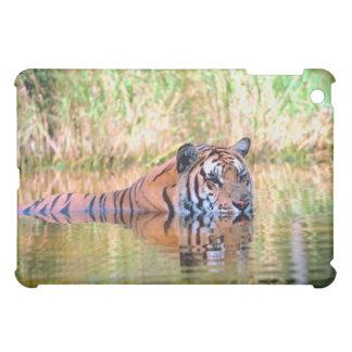 Tiger in lake iPad mini covers