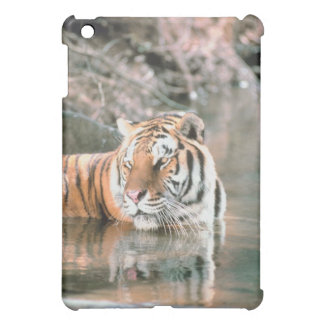 Tiger in stream iPad mini covers