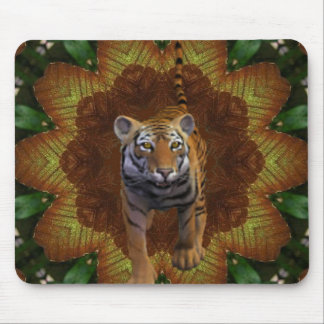Tiger In The Jungle. Mouse Pad