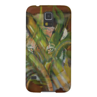 Tiger in the Jungle Peaking through Bamboo Galaxy S5 Cover