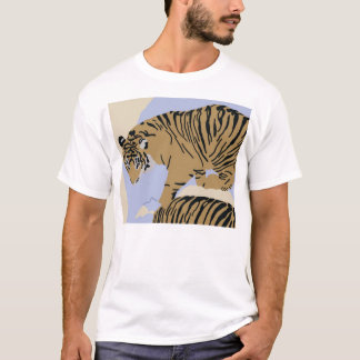 tiger in water Apparel T-Shirt