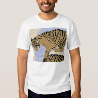 tiger in water Apparel Tshirt
