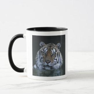 Tiger in Water Mug