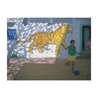 Tiger India Canvas Print