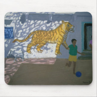 Tiger India Mouse Pad