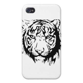 tiger iPhone 4/4S case