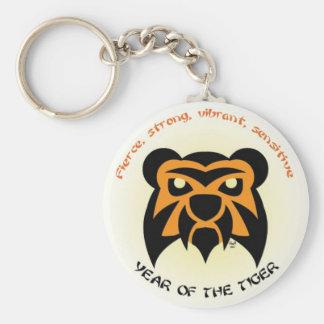 Tiger Key Key Ring