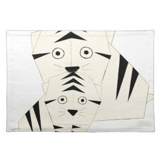 tiger kisses placemat