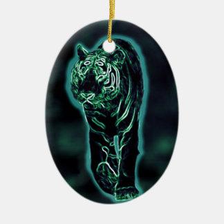 Tiger (Light Tiger) Christmas Ornament