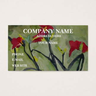 TIGER LILIES  - Business Cards
