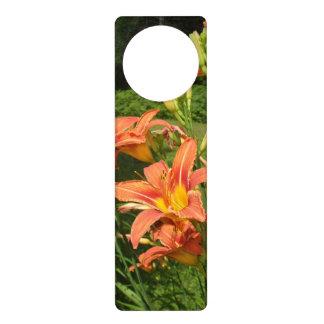 Tiger Lilies Door Knob Hanger