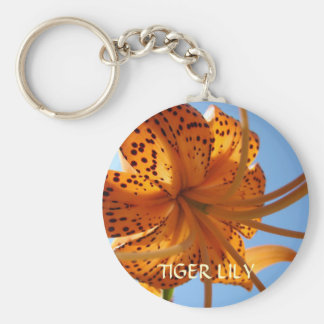 TIGER LILIES FLOWERS KEY CHAINS KEYCHAIN Gifts