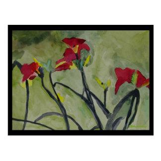 Tiger Lilies - Post Card