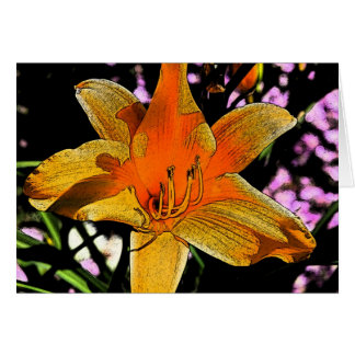 Tiger Lilly 2 Card