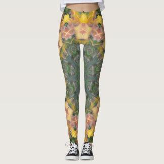 Tiger Lily/Aztec Print Leggings