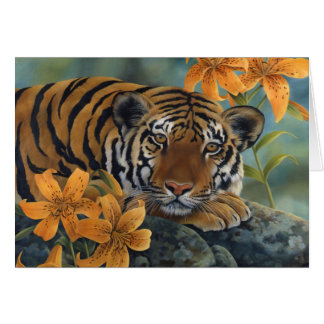 """Tiger Lily"" Card"