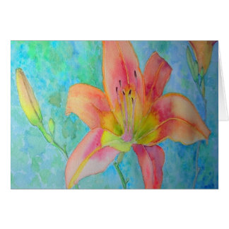 Tiger Lily Card