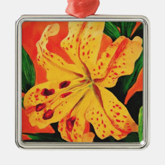 Tiger Lily Christmas Ornament