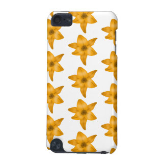 Tiger Lily Flowers. Pattern. iPod Touch (5th Generation) Cover