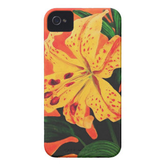 Tiger Lily iPhone 4 Cover