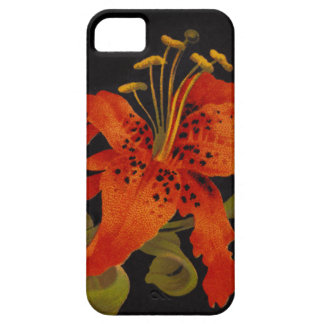 Tiger Lily iPhone 5 5S Case