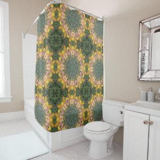 Tiger Lily Mandala Shower Curtain