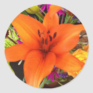 Tiger Lily Sticker
