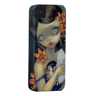 """Tiger Lily, Tiger Nautilus"" iPhone 4 Case"