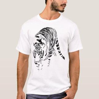 tiger line Apparel T-Shirt