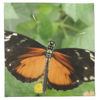 Tiger Longwing Butterfly Napkin